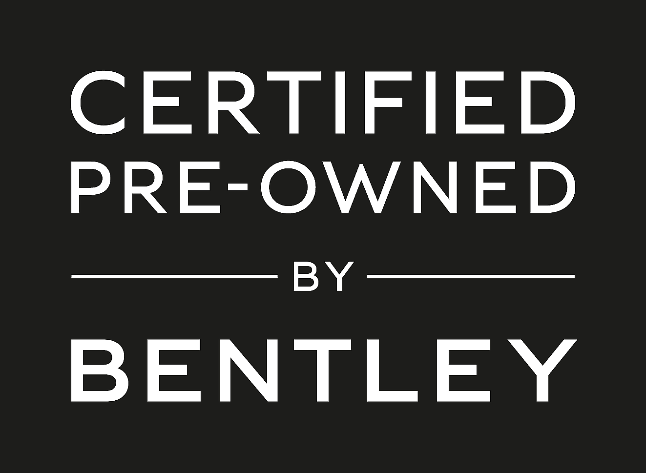 Certified Pre-Owned by Bentley
